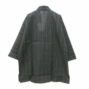 【未使用】Otokosyuu 男衆「M」しじら織作務衣 (着物 日本伝統) 095844