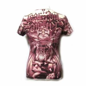 Jean Paul GAULTIER FEMME ジャンポールゴルチエ ファム「40」サタンストレッチTシャツ (半袖 ゴルチェ) 098418
