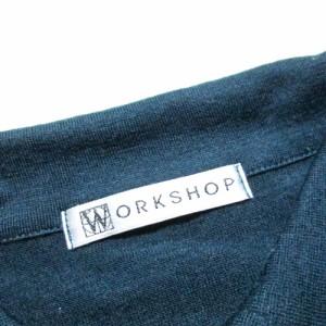 WORK SHOP Y,s ワークショップ ワイズ ウールブラウス (シャツ カーディガン Y,s ワイズ Yohji Yamamoto 山本耀司) 100649