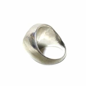 廃盤 Jean Paul GAULTIER ジャンポールゴルチエ フェイスシールリング (シルバー 指輪) 100946