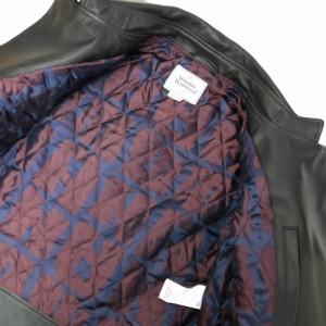 【新品】 Vivienne Westwood MAN ヴィヴィアンウエストウッド マン「44」イタリア製 ポートレートバイカーレザージャケット 101358