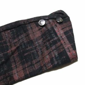 新品同様 h.NAOTO エイチナオト タータンチェック3Bジャケット (黒 赤) 101499
