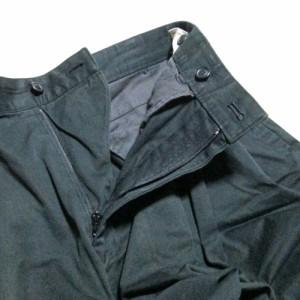 Vintage ISSEY MIYAKE MEN イッセイミヤケ メン「M」ワイドテイパードパンツ (黒 80年代ヴィンテージ) 102615