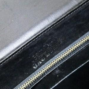 廃盤 Jean Paul GAULTIER  ジャンポールゴルチエ  メタルプレートレザーショルダーバッグ 2way 102688