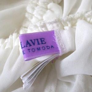 CEST LAVIE セラヴィ プリンセスレースチュニックワンピース (白 カットソー) 103590