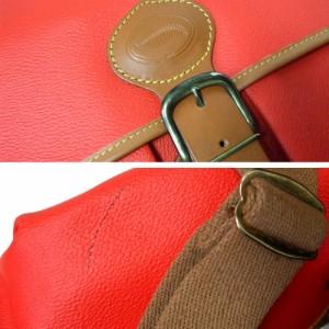 新品同様 SOCO ソコ ショルダーバッグ (赤色 スペイン 1923) 103650