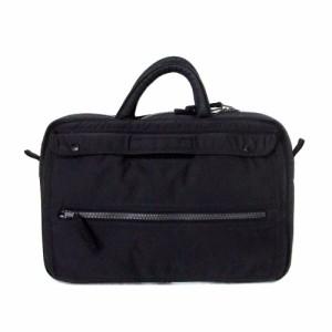 LUGGAGE LABEL PORTER ラゲッジレーベル ポーター ブリーフケースバッグ (黒 ビジネス 吉田カバン) 106782