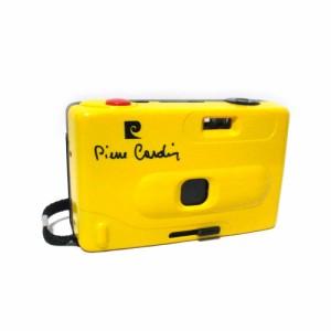 pierre cardin×Handy CAMERA ピエールカルダン×ハンディカメラ コンパクトフィルムカメラ (黄色 イエロー) 109165