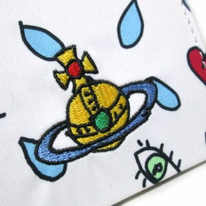 【新品】 廃盤 Vivienne Westwood ヴィヴィアンウエストウッド 限定カラ—オーブ刺繍コンパクトミラー+ハンカチ セット 109181