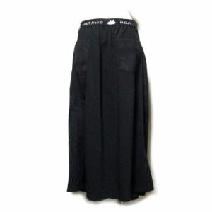 MINT Neko ミントネコ 立体ロングドレープスカート (黒 ゴルロリ 巻きスカート h.NAOTO エイチナオト) 109600