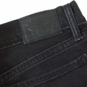 Levi's リーバイス 711SKINNYスキニーデニムパンツ (黒 ジーンズ パンク ロック) 110605