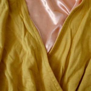 美品 ROYAL PARTY ロイヤルパーティー カシュクールチュールワンピース (パーティ ドレス フォーマル) 110621