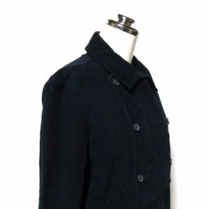 LE GLAZIK ル グラジック「34」フランス製 コーデユロイピーコート (紺 ワークウエアー Pコート ジャケット) 111035
