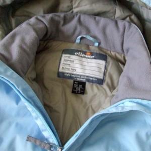 ellesse エレッセ フルジップナイロンジャケット (青 ブルー ブルゾン) 111808
