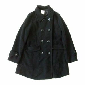 LOWRYS FARM ローリーズファーム ミリタリーピーコート (黒 ブラック Pコート) 112314
