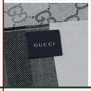 GUCCI(グッチ) ウール100% マフラー GG柄 メンズ レディース 新作 ストール