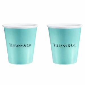 ティファニー カップ ペア 陶器 ボックス 新品 コーヒーカップ ブランド おしゃれ ティーカップ コップ 結婚祝い 引越し祝い プレゼント