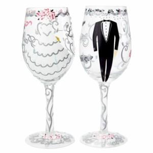 ロリータ ワイングラス ペア ブランド おしゃれ 結婚祝い プレゼント 陶器 カラー 食器 引っ越し祝い お洒落な引っ越し祝い 1人暮らし