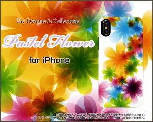 iPhone X 8/8Plus 7/7Plus SE 6/6s 6Plus/6sPlus ハード スマホ カバー ケース Pastel Flower type001 /送料無料