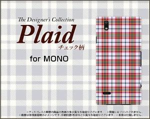 MONO MO-01K MO-01J モノ ハード スマホ カバー ケース Plaid(チェック柄) type002 /送料無料