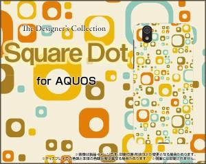 AQUOS sense [SH-01K/SHV40] TPU ソフト ケース ドット 雑貨 メンズ レディース プレゼント aqsen-tpu-cyi-001-033