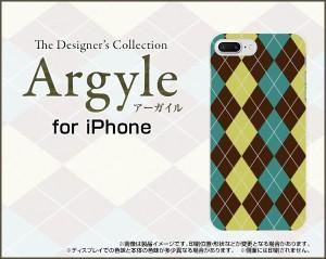 液晶全面保護 3Dガラスフィルム付 カラー:白 iPhone 8 Plus スマホ ケース アーガイル 雑貨 メンズ レディース ip8p-3dtpu-wh-argyle001