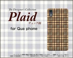 スマートフォン ケース Qua phone QZ [KYV44] au チェック 激安 特価 通販 プレゼント kyv44-plaid005