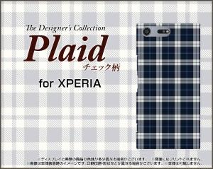 スマートフォン ケース 保護フィルム付 XPERIA XZ Premium [SO-04J] docomo チェックかわいい おしゃれ ユニーク 特価 so04j-f-plaid003