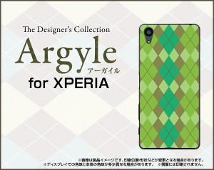 XPERIA X Performance [SO-04H SOV33 502SO] スマホ ケース docomo au SoftBank アーガイル 雑貨 メンズ レディース xpexp-argyle003