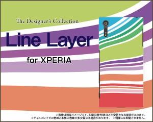 保護フィルム付 XPERIA XZs [SO-03J SOV35 602SO] スマホ カバー docomo au SoftBank ボーダー 雑貨 メンズ xzs-f-cyi-001-037