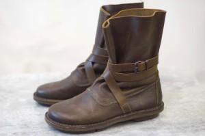 ○トリッペン trippen エンジニアブーツ ストラップ ブーツ メンズ 中古