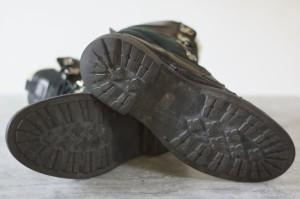○ヒューゴボス HUGO BOSS ボア トレッキングブーツ マウンテンブーツ ブーツ メンズ 中古