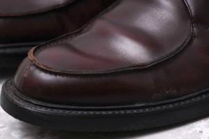 ○シルバノマッツァ Silvano Mazza Uチップ レースアップブーツ ブーツ メンズ 中古