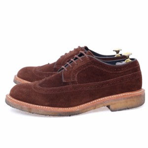 72100bb08f7a リーガル REGAL nonnative ノンネイティブ別注 DWELLER SHOES WING TIP COW SUEDE with GORE-