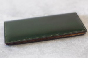 ○土屋鞄 TSUCHIYA-KABAN コードバン 札入れ 長財布 メンズ 中古