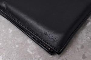 ○ポールスミス Paul Smith AJXA 1033 W731 マルチストライプ 二つ折り 財布 メンズ 中古