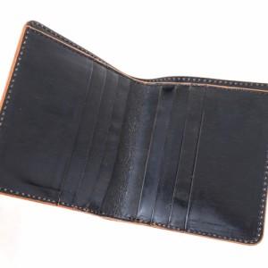 ○ポーター 吉田カバン PORTER フォイル FOIL 195-01333 イタリア産レザー 箔 財布 メンズ 中古