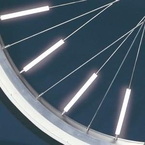 サイクル用品 光るスポークかざり スティック