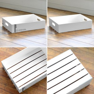 収納ボックス B4 サイズ 幅27×奥行37×高さ10cm コンテナ プラスチック製