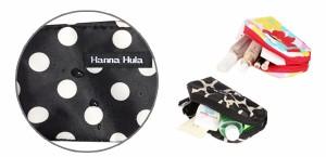 ポーチ Hanna Hula ハンナフラ 撥水 バッグ 小物入れ かわいい おしゃれ