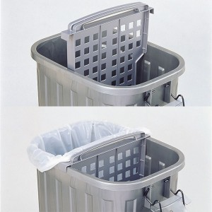 ゴミ箱 スーパーカン 60型 角型( ごみ箱 ゴミ箱 ダストBOX くずかご )