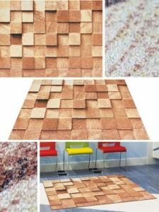 玄関マット Office & Decor Block 90×150cm ( 建物内 オフィス 事務所 来客用 デザイン オフィス&デコ  )