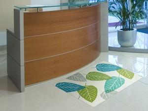 玄関マット Office & Decor Gepresste 120×160cm ( 建物内 オフィス 事務所 来客用 デザイン オフィス&デコ  )