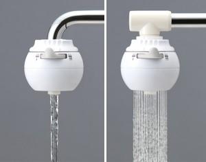 浄水器 浄水蛇口 ロカシャワー CP ( ろ過 )
