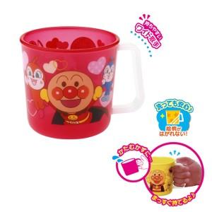 コップ マグカップ アンパンマン 子供用 キャラクター プラスチック製 レッド