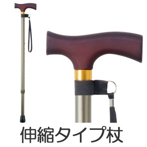 ステッキ アルミ製伸縮式杖 OT−002