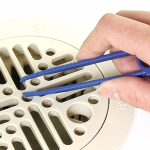 浴室排水口ブラシ ピンセット付