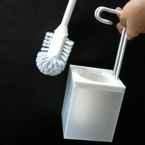 トイレブラシ トイレケース ブラシ付き アルモア