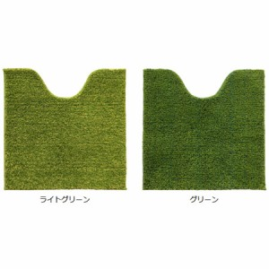 SHIBAFU トイレマット 60×60cm 芝生