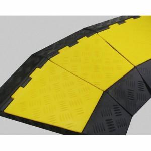 ケーブルガード コーナー用 5列溝タイプ 31×50cm ( 保護カバー )